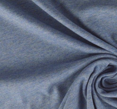 Hygienebezug ZS Jersey jeansblau melliert