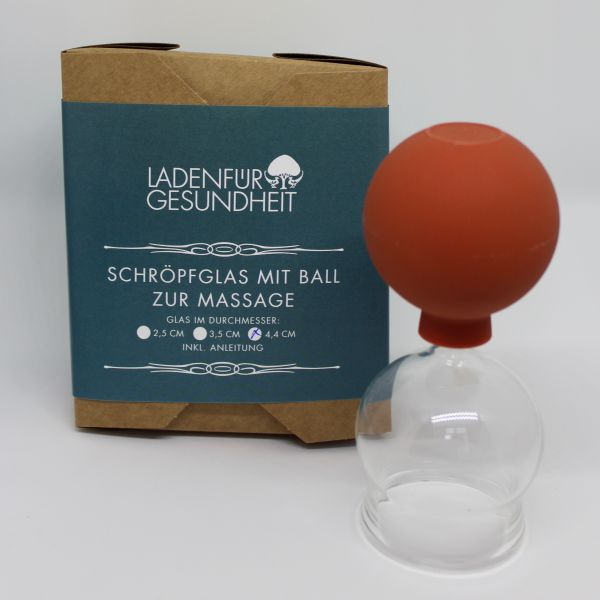 Schröpfglas 4,4 cm