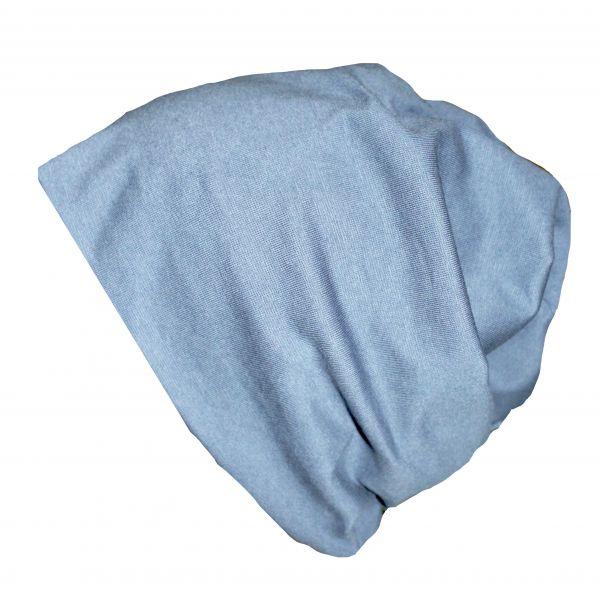 Beanie blau Bio (warm)
