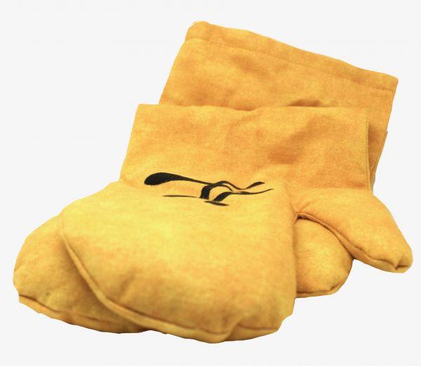 Zappsack Handschuh (1 Paar) gelb