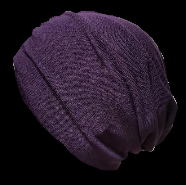 Beanie violett