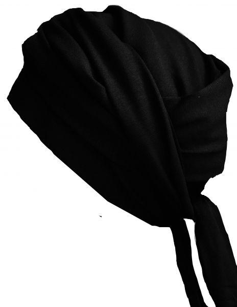 Wickelturban schwarz