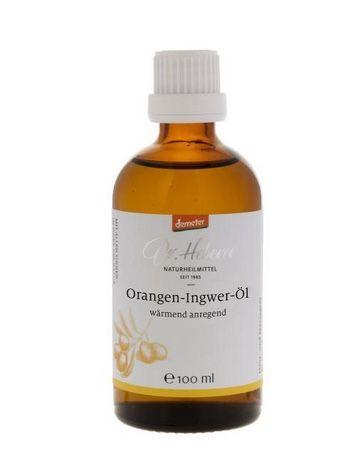 Orangen-Ingwer-Olivenöl 10%ig 100ml