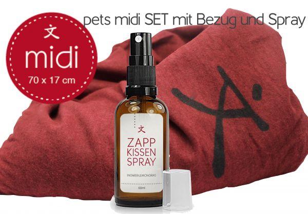 Pets Midi-Set rot