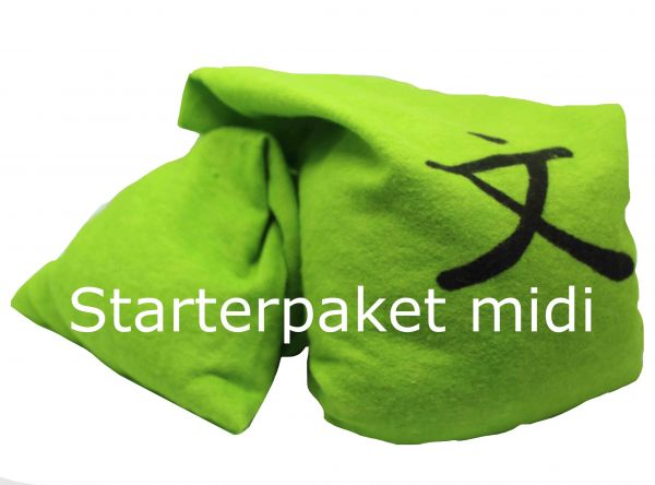 Zappsack Starterpaket midi grün