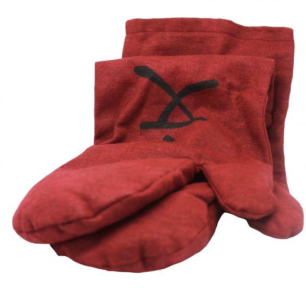 Zappsack Handschuh (1 Paar) rot