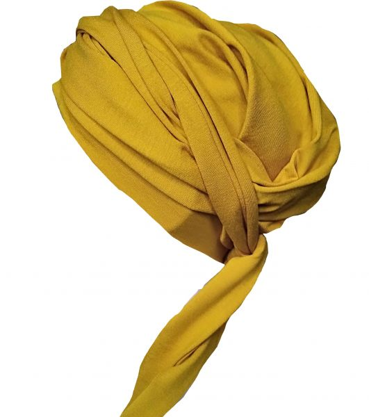 Wickelturban goldgelb