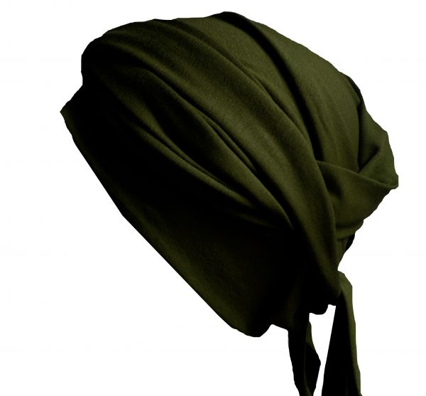 Wickelturban dunkelgrün