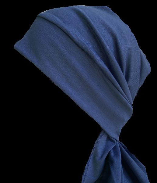 Schlauchtuch jeansblau