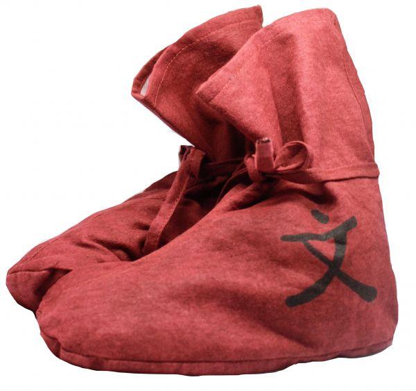 Zappsack Füßling (1 Paar) rot 40-44 ausverkauft!