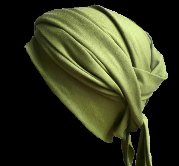 Wickelturban olivgrün