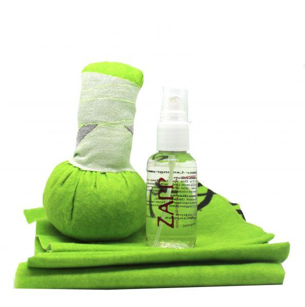 Kräuterstempel-Set grün