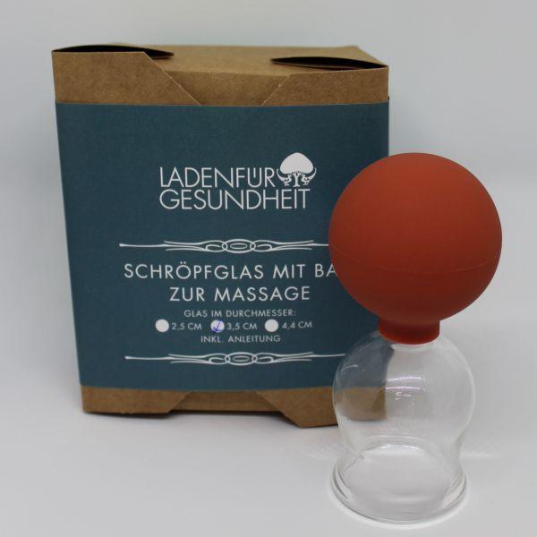 Schröpfglas 3,5 cm
