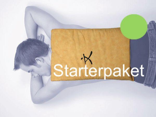Zappsack maxi 60 x 30 cm Starterpaket grün