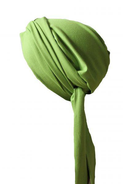 Wickelturban lindgrün