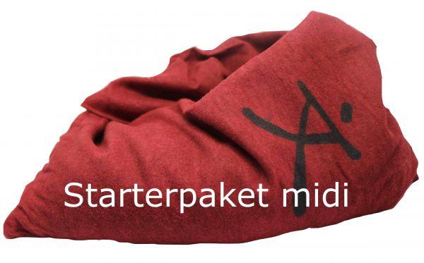Zappsack Starterpaket midi rot
