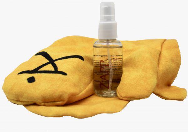 Pets Handschuh-Set 2 Stück gelb