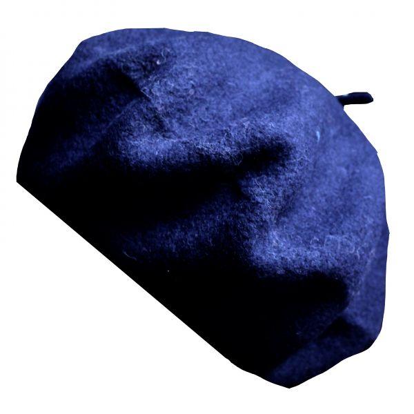 Baskenmütze marine dunkel